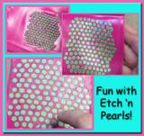 Fun way to use Etch 'n Pearls