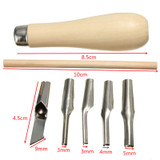 Linoleum Carving and Sculpture Tool Set