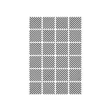 "Diagonal Block - Background Embossing Folder 4.25""X5.75"""