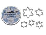Cutters Snowflakes 5 piece Theme Set