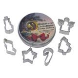 Mini Christmas Tin 6 pc Set