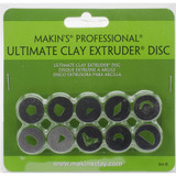 Makin's Professional Ultimate Clay Extruder Discs 10/Pkg Set B