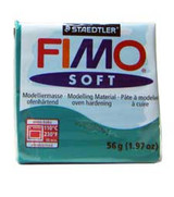 Fimo Soft Polymer Clay - Emerald