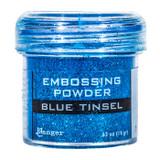 Ranger Blue Tinsel Embossing Powder