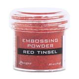 Ranger Red Tinsel Embossing Powder