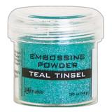 Ranger Teal Tinsel Embossing Powder