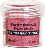 Ranger Raspberry Tinsel Embossing Powder