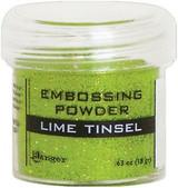 Ranger Lime Tinsel Embossing Powder