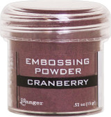 Ranger Cranberry Metallic Embossing Powder
