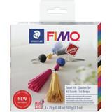 Fimo Leather Effect Kit - Tassel Keychain