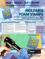 Moldable Foam Stamps Instructions