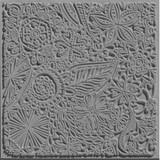 Cernit Texture Plate Flowers