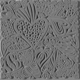 Cernit Texture Plate Hearts