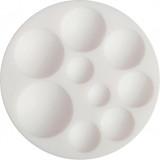 Cernit Silicone Mold - Round Cabochons