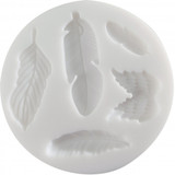Cernit Silicone Mold - Feathers