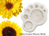 Daisy Sunflower Center Flower Mold
