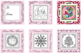 JustRite Rubber Stamps From Our House Set