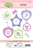 JustRite Rubber Stamps Charmed Cling Set