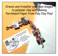 Baking Parchment Paper for Image Transfer and more