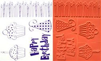 Rubber Stamps - Birthday