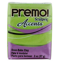 Premo! Sculpey® Accents - Bright Green Pearl