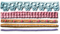 Tassels Beads and Lace Borders