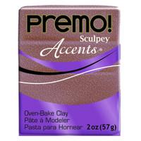Premo! Sculpey® Accents - Rose Gold Glitter