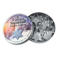 Cutters Mini Snowfall Tin Set