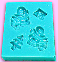 Mini Mold - Elves with Toys