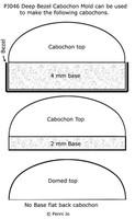 Deep Cabochon Molds