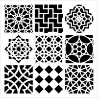 Mini Moroccan Tiles 6 x 6
