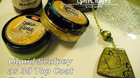 Liquid Sculpey as a 3D Top Coat Video