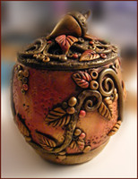 Autumn Faerie Treasure Jar Tutorial