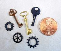 Steampunk Rusted Micro Artifacts Tutorial Freebie