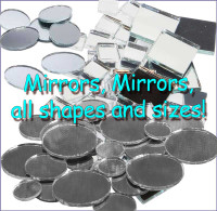 Mirrors - Various Shapes and Sizes