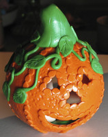 Ghost Filled Pumpkin Tutorial