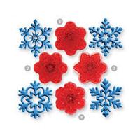 Angel Snowflakes 4/pkg.