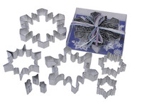 Cutters Snowflakes 8 piece Theme Set