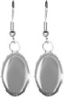 Earrings - Oval