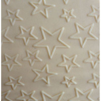Acrylic Rolling Pin Stars