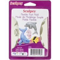 Sculpey Mold -  Sea Life