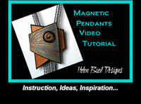 All about Helen Breil's Magnetic Pendants Class