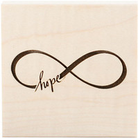 Teresa Collins Wood Mount Stamps - Hope