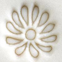 Flower - Aster Outline Stamp