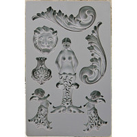 Nautica #2 - Iron Orchid Designs Vintage Art Decor Mould