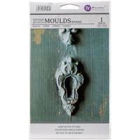 Escutcheons #1 - Iron Orchid Designs Vintage Art Decor Mould