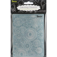 "Background Embossing Folder 4.25""X5.75"" - Flower Frenzy"