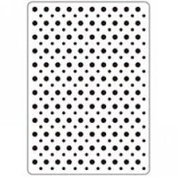 "Multi Sized Dots - Background Embossing Folder 4.25""X5.75"""