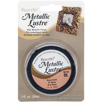 Metallic Lustre Wax Finish - Rose Gold
