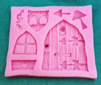 Enchanted Rustic Fairy Door Mold